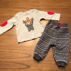 Little Wonders Infant Boy's Outfit - 6-9 months